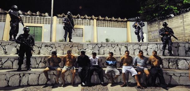 El Salvador MS-13 Prison Gang